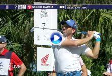 No se pierdan este fantástico golpe de Sergio en el National, dejó la bola dada desde 215 mts. (VÍDEO)