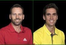 Sergio vuelve a la acción en el PGA Tour. García y Cabr.-Bello en el tee de salida del icónico National