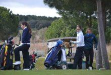Marina Escobar, líder destacada en Golf Santander en el Campeonato de Madrid Femenino 2018