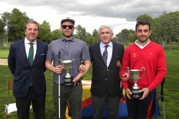 El cántabro Juan Postigo consigue su cuarta victoria en el Campeonato de España de Golf Adaptado