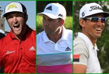 Sabor español en la Ryder Cup de París. A día de hoy Jon, Sergio y Rafa estarían metidos en el equipo