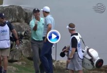 Kuucccchhhhhh! Kuchar noqueó a Fisher a base de birdies y de ¡Hoyos en 1! fue el golpe del día (VÍDEO)