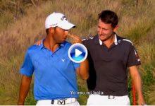 Movistar Golf aclara el incidente entre Larrazábal y Grillo en el Hoyo 72 del Indian Open (VÍDEO)