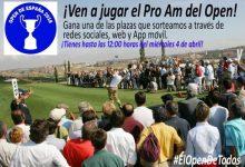 ¿Quieres jugar el ProAm del Open de España '18? La RFEG y la Federación de Madrid sortean 21 plazas