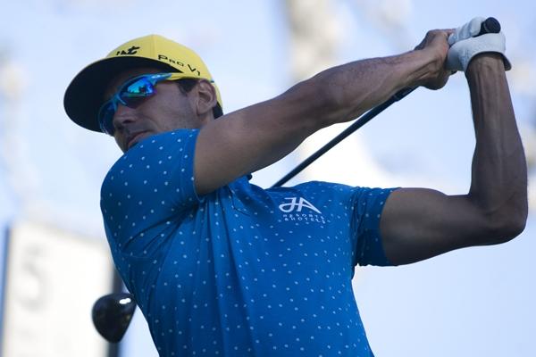 El isleño, uno de los deportistas más destacados del inicio de evento en México. Foto Jorge Cruz