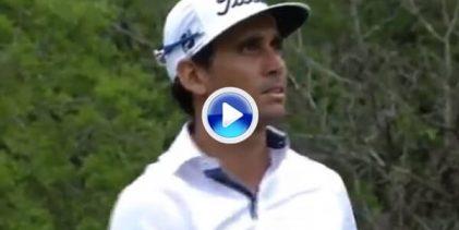 El tirazo de Cabrera-Bello fue respondido con otro de igual calibre por parte de Mickelson (VÍDEO)