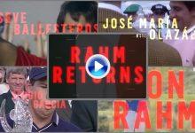 ¡El campeón, de nuevo a escena! El European Tour confirma que Jon Rahm estará en Irlanda (VÍDEO)