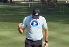 Un chip de Sergio García entre los 10 mejores en lo que llevamos de curso en el European Tour (VÍDEO)