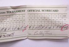 Errar es de sabios… Los resultados más altos, hoyo a hoyo, en Augusta dejan una tarjeta de 167 golpes