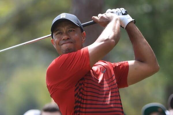 Tiger Woods durante la ronda final del Valspar. Foto: @ESPNDatos