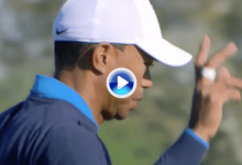 ¡Está de dulce! Tiger arrancó con mucho acierto los primeros hoyos del Arnold Palmer Inv. (VÍDEO)