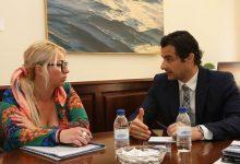 Eduardo Dolón y Marisa Gayo abordan el desarrollo de futuros proyectos deportivos en Alicante
