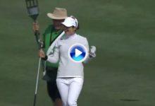 Un maravilloso eagle de Beatriz Recari, incluido entre los 5 mejores golpes LPGA de marzo (VÍDEO)