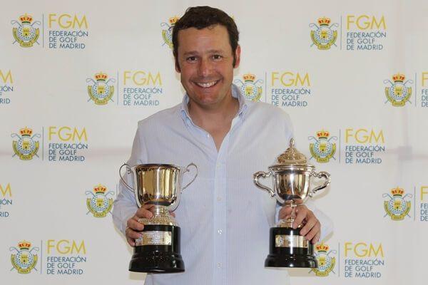 Carlos de Corral, Campeón del Abierto de Madrid tras firmar la mejor vuelta del torneo