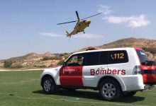 Un golfista resulta herido tras caer con su buggie por un barranco mientras jugaba en Font del Llop