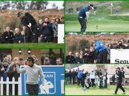 Rahm, C.-Bello, Fdez.-Castaño…, entre las mejores imágenes de la 1ªJ. del Open de España (GALERÍA)