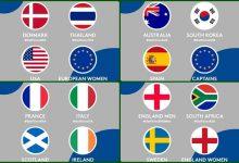 España con Otaegui y Larrazábal y Ciganda (equipo europeo femenino), españoles/a en el GolfSixes
