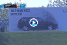 Tanihara no se irá de vacío del Volvo, se lleva a casa este XC90 de 60.000€ por este Hoyo en Uno (VÍDEO)