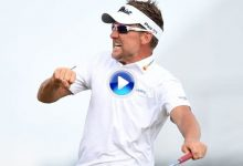 """Ian """"killer"""" Poulter celebró al más puro estilo Ryder Cup su victoria en el Houston Open (VÍDEO)"""