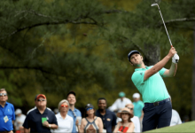 Rahm se reafirma con una de las mejores vueltas del día y se queda a rebufo del Top 10 en Augusta