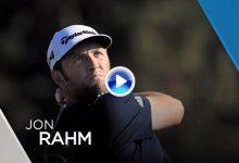 Así fue la primera vuelta de Rahm en el Open de España. Atención al golpe desde el camino (VÍDEO)