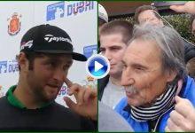 Rahm protagonizó la anécdota del día con un fan: «Si no me enfadase no sería quien soy» (VÍDEO)