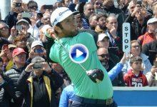 Así fue la 2ªJ de Jon Rahm en el Open de España. Golpazos de lujo con un objetivo: ¡Ganar! (VÍDEO)
