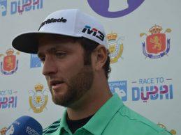 """Rahm: """"Estos dos días nadie ha jugado mejor que yo de tee a green, pero… hay que meter los putts"""""""