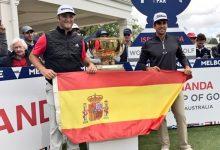 Jon Rahm y Rafa C.-Bello, al frente de la Armada en el Open de España, la gran fiesta del golf español