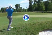 ¡Mira Phil! Genial Flop Shot de Spieth en Avondale, envió la bola a las nubes y la dejó dada (VÍDEO)