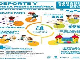 Alicante Gastronómica arranca con una jornada dedicada al deporte y la dieta mediterránea