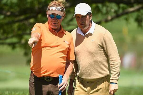 Olazábal y Jiménez se quedan a las puertas del triunfo en el Legends of Golf del Champions Tour