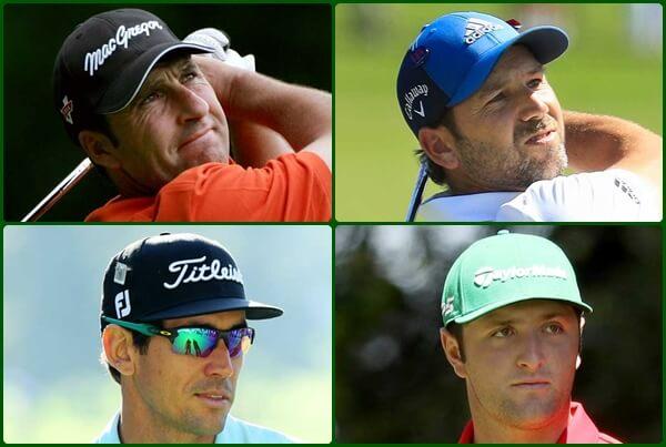 Un años más, cuatro españoles estarán sobre la hierba de Augusta