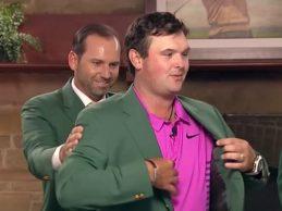 Patrick Reed apostará por la carne en el menú de la Cena de Campeones del Masters de Augusta