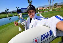 Pernilla Lindberg hace saltar la banca en el ANA Inspiration al conseguir la 1ª victoria de su carrera