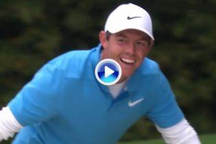 """Dime cuántas, no me digas cómo. Un sofocado Rory fue el autor del """"churro"""" del día en Augusta (VÍDEO)"""