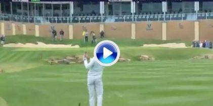 Sergio dijo adiós en Texas, pero dejó su marca con este golpazo con el que dejaba la bola dada (VÍDEO)