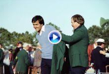 Las 5 Chaquetas Verdes: el segundo título de Seve en Augusta llegó tras un domingo de pura magia