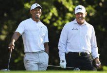 Woods-Mickelson: de la guerra en el campo a la amistad más sincera tras la lesión de Tiger