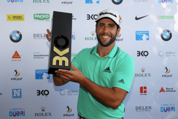 Adrián Otaegui da otra alegría al Golf español al vencer a Hebert en la final del Belgian Knockout