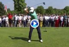 Así luce el swing a cámara lenta de Adrián Otaegui campeón en Bélgica, rey del MatchPlay (VÍDEO)