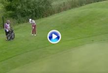 Björk, el golfista que más ha embocado desde fuera de green en el último año de todo el ET (VÍDEO)