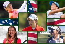 La gloria espera a Carlota, Azahara, María, Luna y Celia, españolas en el US Women's Open, 2º Grande