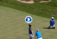 El Golf es duro… Esta corbata de Carlota apeaba de forma cruel a Ciganda/Reid del GolfSixes (VÍDEO)