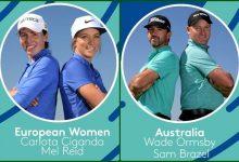 Australia con Brazel y Ormsby, rivales de Carlota y Mel en cuartos de final del GolfSixes (HORARIOS)