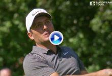 Emoción hasta el final en el PGA cuando Molinari casi está a punto de irse al agua en el 18 (VÍDEO)