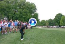 """Este golpazo de Jason por encima de los árboles y desde el rough, fue el mejor del """"Day"""" (VÍDEO)"""