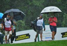 La LPGA, abonada a la lluvia. El Kingsmill se reduce a 54 hoyos tras no haber podido jugar el sábado