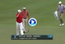 Jiménez 'On Fire'. El Pisha presenta credenciales en el Insperity Invitational a base de birdies (VÍDEO)