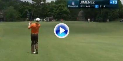 Jiménez manda en Alabama en el primer Grande Senior del año con tirazos como este (VÍDEO)